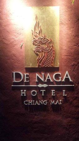 De Naga Hotel: entree hotel