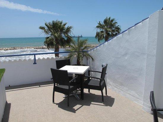 Hotel La Chancla: roof