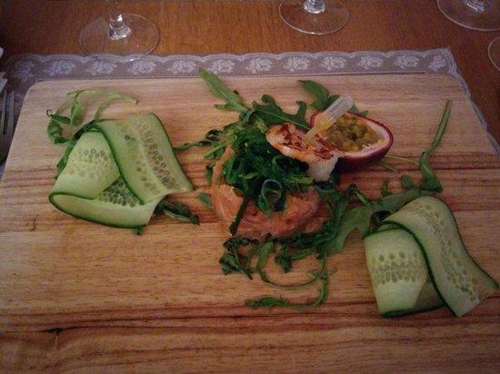 Muomina: Carpaccio de saumon