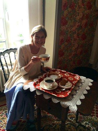 Le Relais du Mont Chauve: Coffee in the room on arrival.