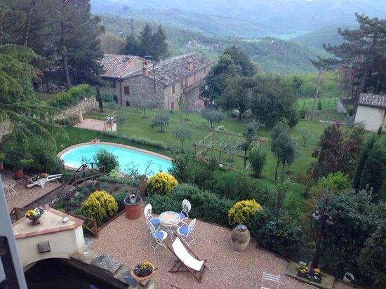 Villa Mina: Particolare piscina