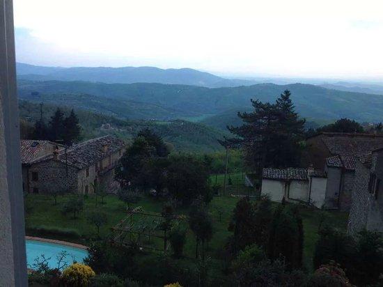 Villa Mina: Panorama