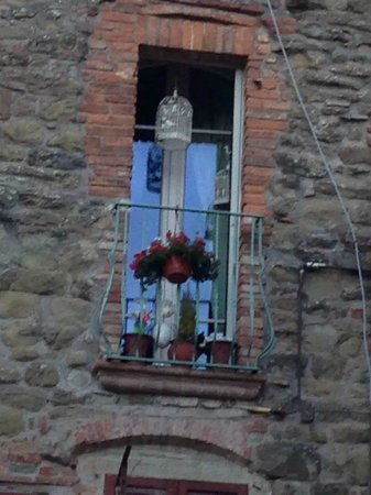 Villa Mina : La finestra della camera