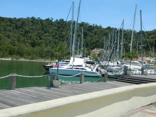 Vivanta by Taj Rebak Island, Langkawi: The marina at the resort.
