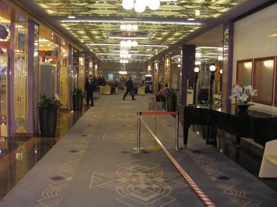 Delta Hotel: Холл