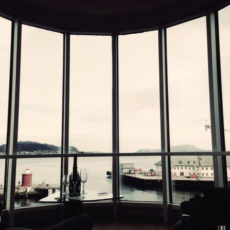 Scandic Alesund: A room with the perfect view to wake up to!