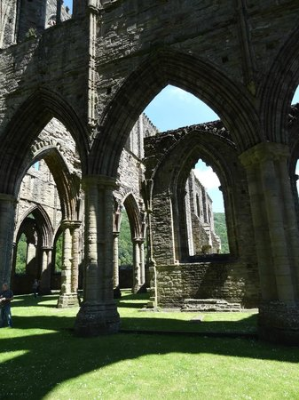 Tintern Abbey: atmospheric at any time