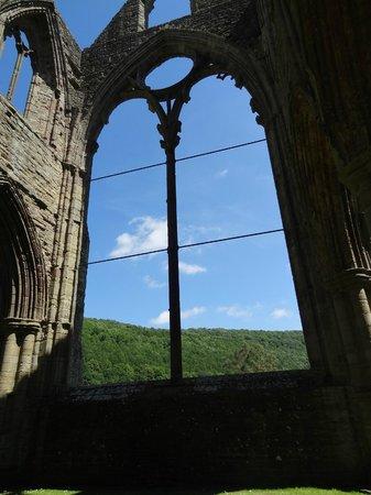 Tintern Abbey: wow, what a view.