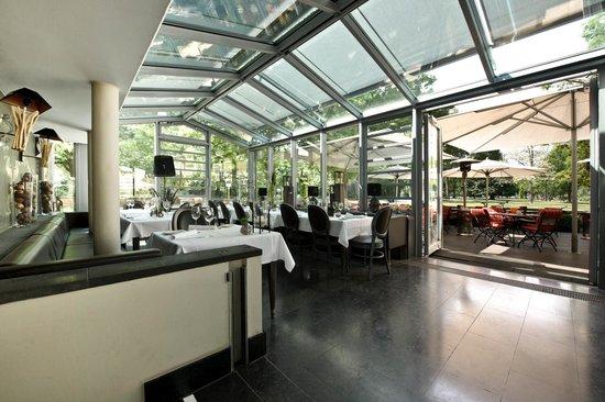 Gerbermuhle Restaurant Wintergarten Frankfurt Bild Von