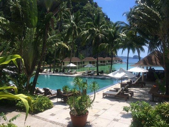 El Nido Resorts Lagen Island: Pool area