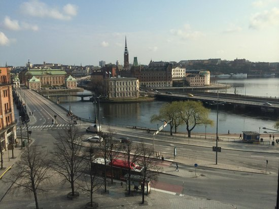 Sheraton Stockholm Hotel : View from room