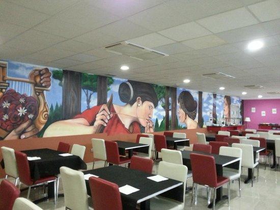 Hotel Spa Torre Pacheco : Salle de repas et petit déjeuner