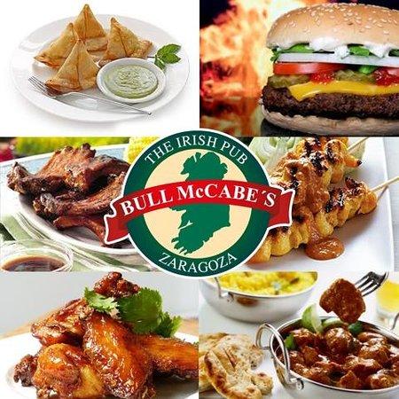 Bull McCabes Irish Bar: Great Bar Food