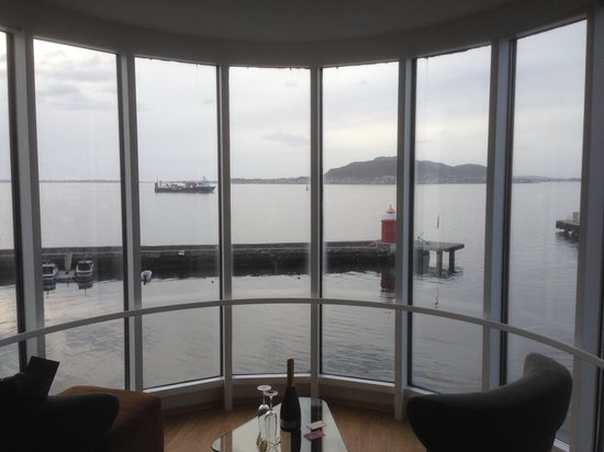 Scandic Alesund: This is the veiw. The same from the bed