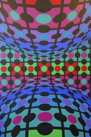 Victor Vasarely Museum: Victor Vasarely - Procion-MC, 1974-75
