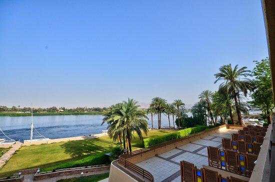 ACHTI Resort Luxor : vue du balcon