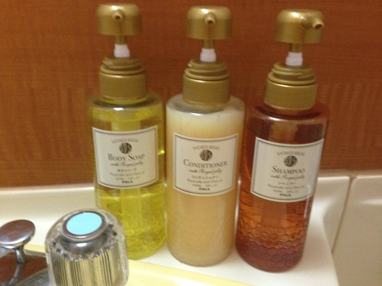 Hotel MyStays Nagoya Sakae: Bathroom supplies