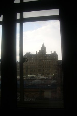 The Scotsman Hotel: view from our room