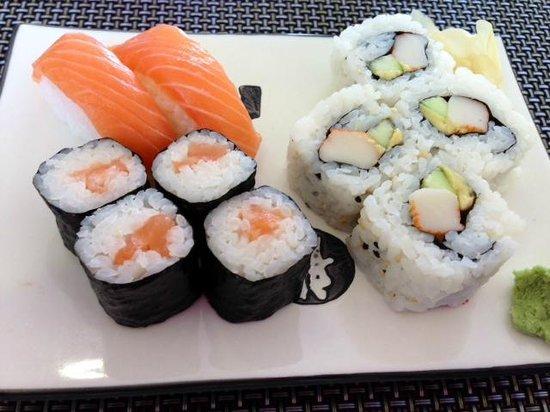 Rende, Italy: sushi