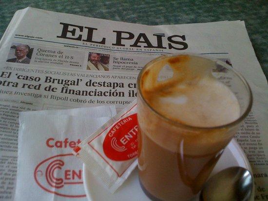 La Sardina: Good news  -  good coffee served