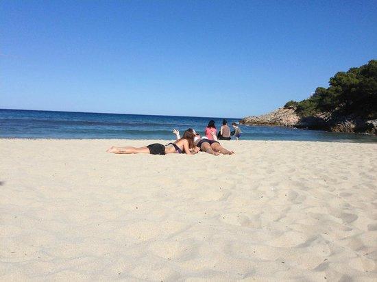 Beach Club Font de Sa Cala : 1-2 Minutes from the Hotel - the beach