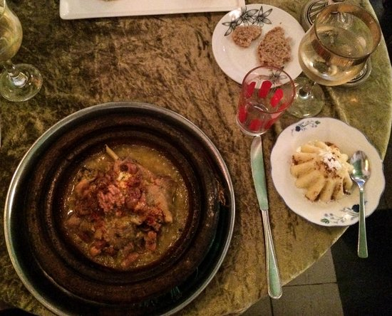 Elizir: Organic chicken tagine