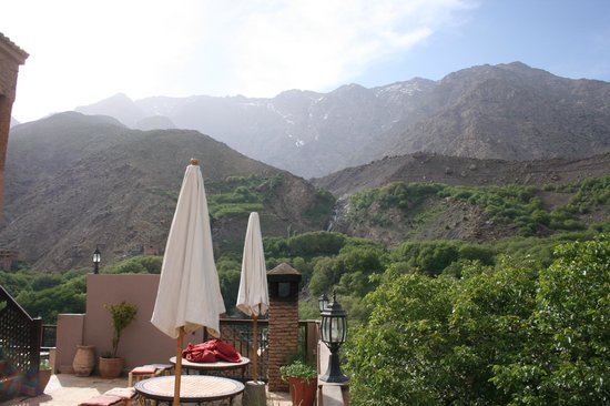 Kasbah Du Toubkal : view from terrace