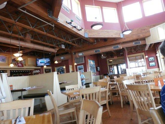 Federal Jacks Restaurant and Brewpub : Dining area at Federal Jack's
