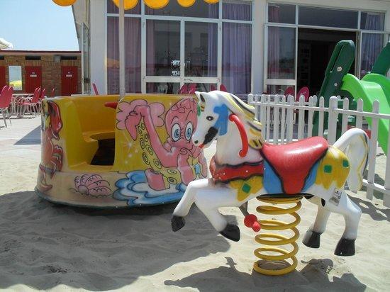 Giostrina e cavallino picture of stella beach pinarella