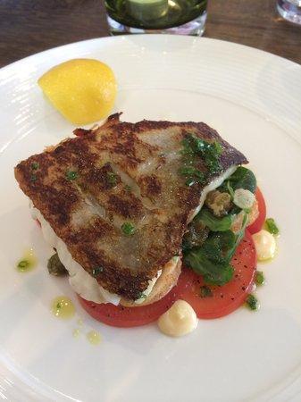 Rocpool Restaurant: Seabass main