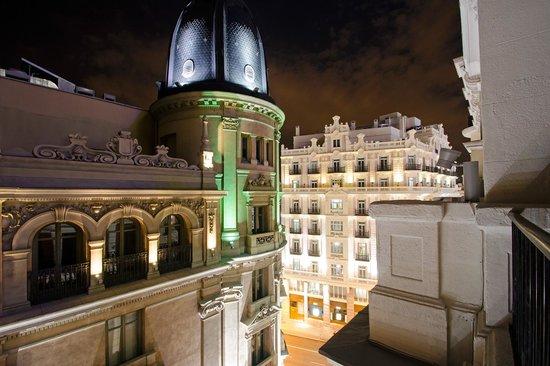 Petit Palace Chueca : View from balcony