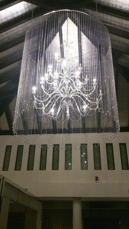 Gran Melia Palacio de Isora Resort & Spa : Lámpara del hall