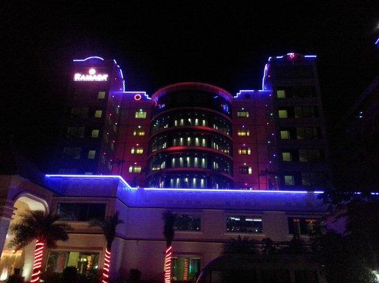 Ramada Alleppey : Night View. External