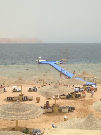 Sierra Sharm El Sheikh : spiaggia del sierra
