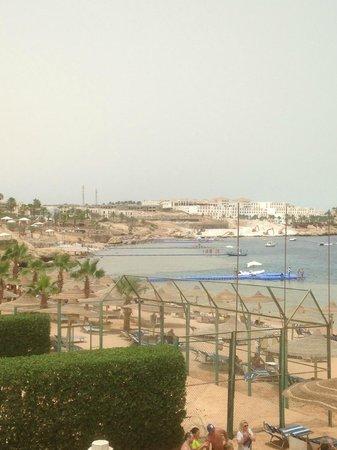 Sierra Sharm El Sheikh : vista dalla spiaggia