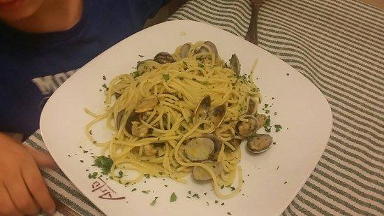 Ristorante Arlù: Spaghetti alle vongole