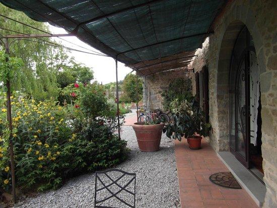 Azienda Fontelunga: Gorgeous terrace