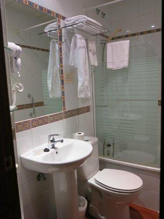Hostal La Andaluza: baño