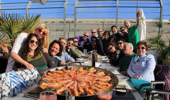 Bar Cantina La Lonja Del Pescado: super comida entre familia y amigos