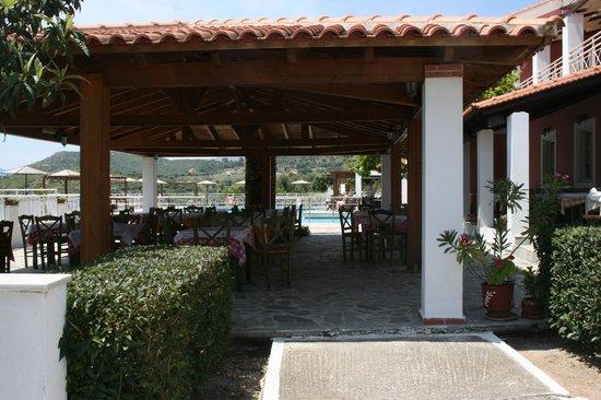 Mykali Hotel: Udsigt fra værelse H1