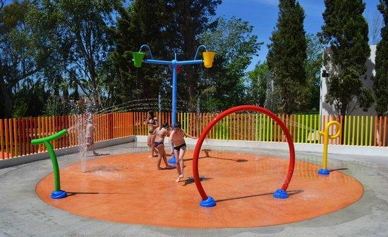 Castell dels Hams Hotel : Jeux d'eau