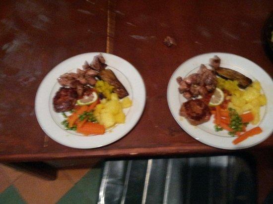 Panorama Auberge Restaurant : Belles plats