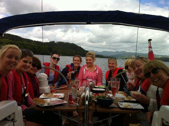Sailing On Windermere: Sail & Dine on Lake Windermere - Impulse Charters