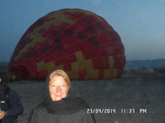 Goreme Balloons: aun en tierra