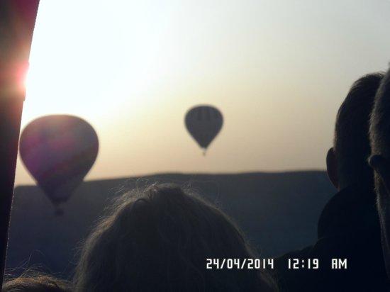 Goreme Balloons: sensacional, unica, experiencia maravillosa!!