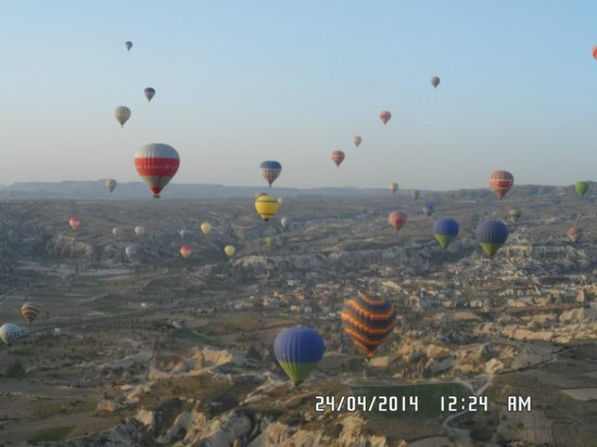 Goreme Balloons: volare, oh, oh....
