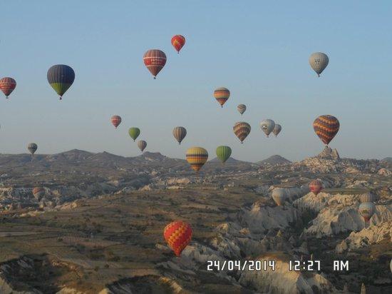 Goreme Balloons: y esos colores!!
