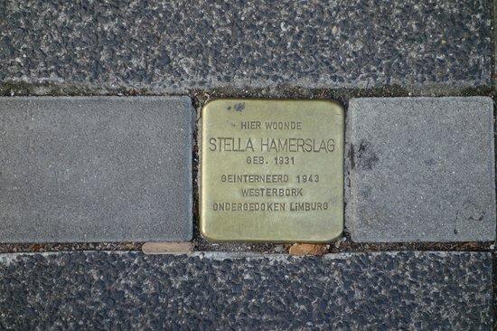 Amsterdam in World War II Walking Tour: Stumble Stone (struikelstenen)