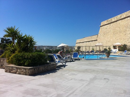 The Phoenicia Malta: Poolside