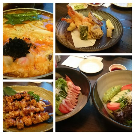 Ishin Japanese Dining: The menu choose on the business dinner.